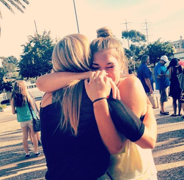 Sisters, Sydney and Kennedy Shields, become reunited for the holiday season