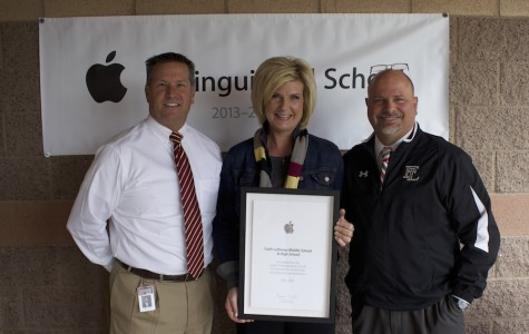 Faith becomes Apple Distinguished School