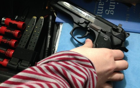 This teenager has access to a gun in her father's nightstand.