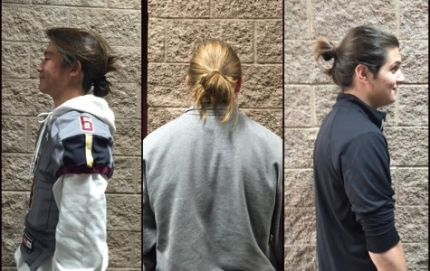 Too much fun with the man bun
