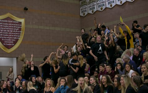 Seniors walk out of Lip Sync competition