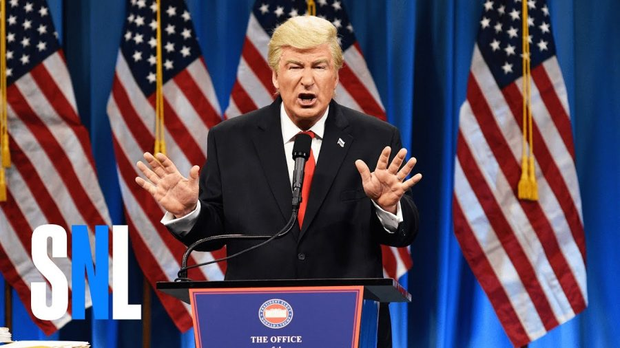 Alec Baldwin as Donald Trump on SNL