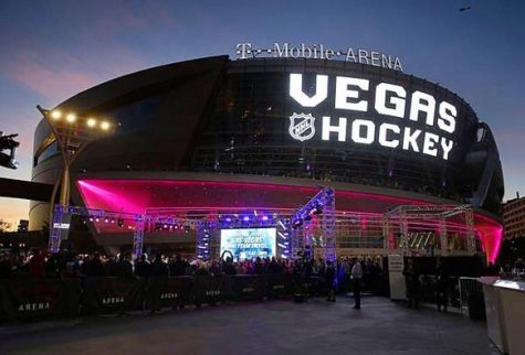 Photo caption: Vegas Hockey coming to T-Mobile Arena in the 2017-2018 season.