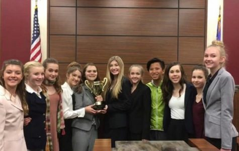 Middle school students battle it out to be the next Middle School Mock Trial Champion