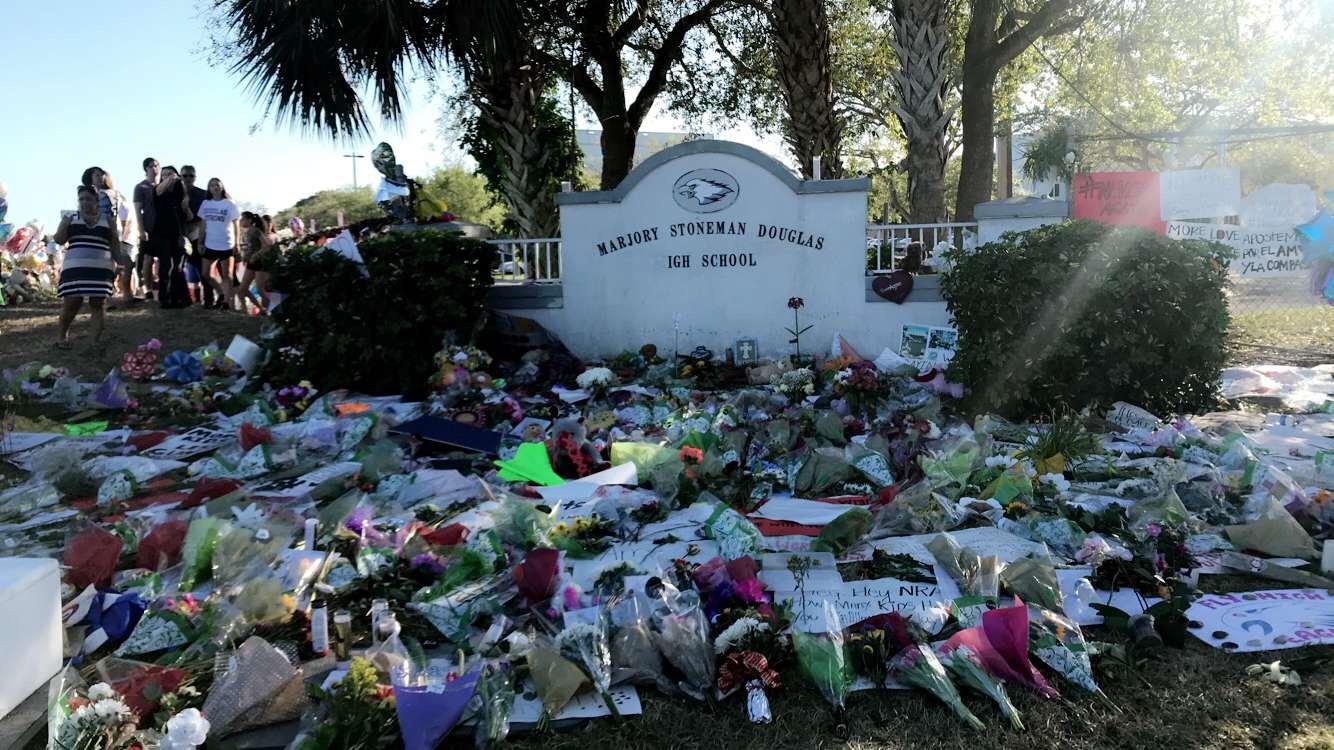 Photo taken by Kelly Owen of the MSD memorial.