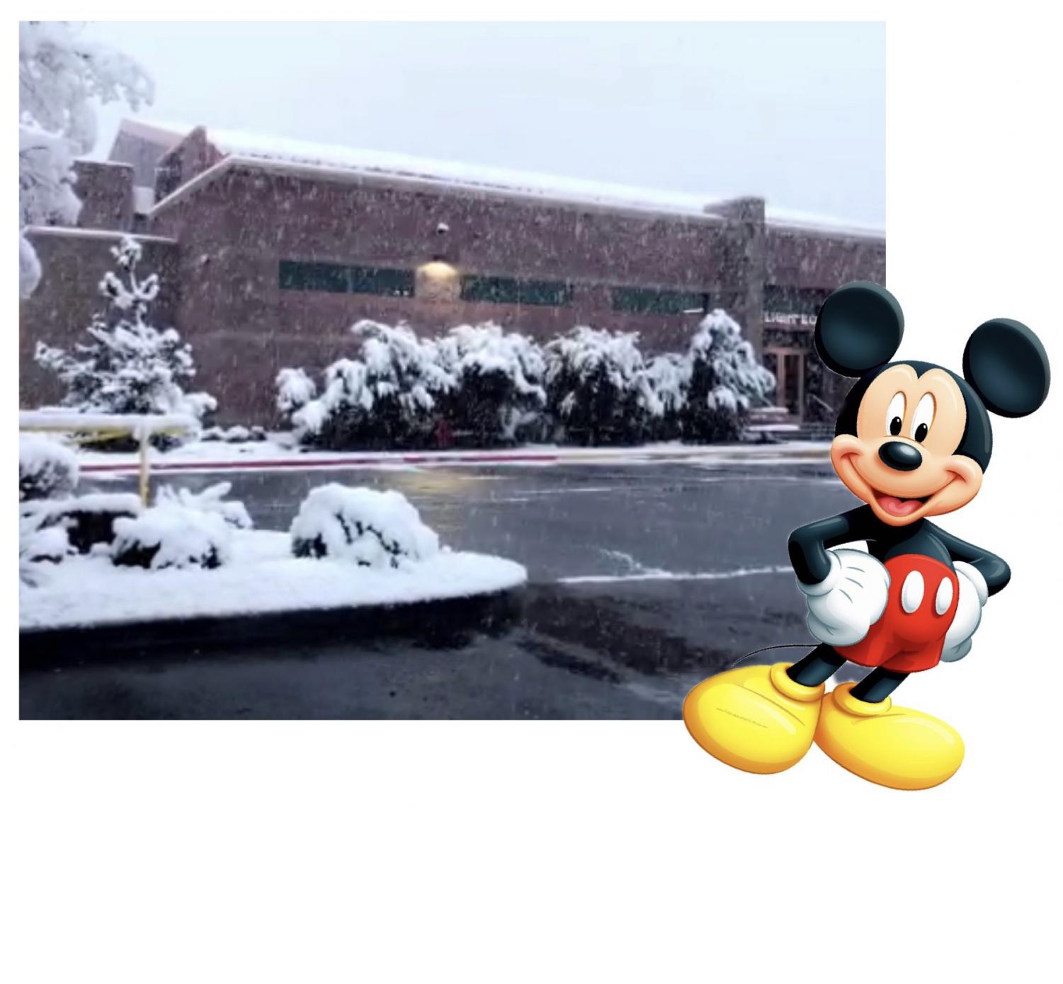The annual Disney ditch day trip to conclude the class of 2019's senior week will still take place tomorrow, February 22, even with the mass amounts of snow.