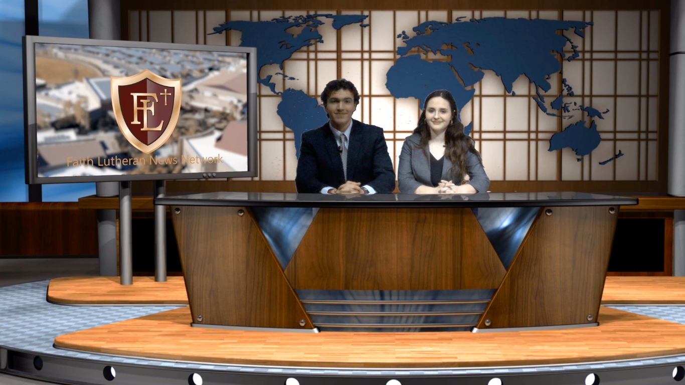 February 8th Broadcast, anchored by Marcello Blanco and Shae Turner, and directed by Bailey Friel.