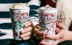 Holiday drinks at Starbucks have arrived