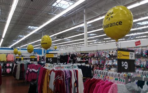 A look at Walmart's clothing department shows that it too is favoring fast fashion in order to hopefully compete in the new fast paced clothing market.
