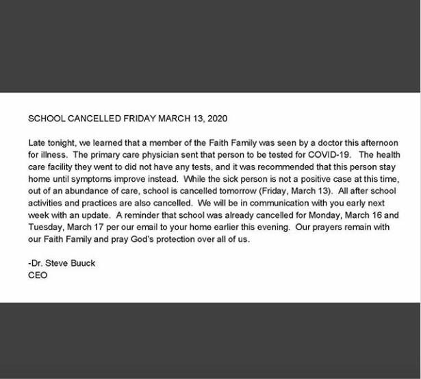 Breaking News: School Cancelled