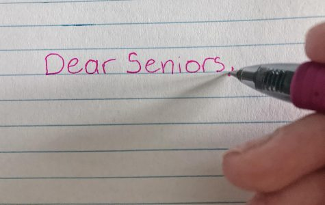 An email came out to seniors explaining plans for end of the school year.