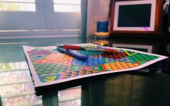 Drawing, painting, and coloring are some activities to keep busy during social distancing.