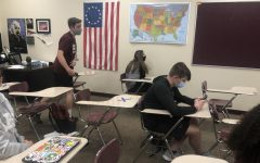 Students have said that just seeing X's on desks, and wearing masks around their peers gives them anxiety.
