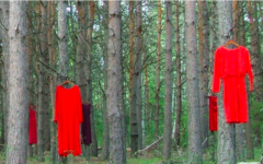 The red dress project brings awareness to the MMIW Movement with the dresses representing the missing and murdered women.